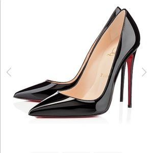 NWOT Christian Louboutin So Kate pointed toe heels